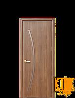 Межкомнатные двери Новый Стиль Дива ПВХ (золотая ольха)