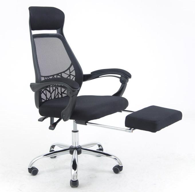 Компьютерное кресло Таити черное / серое