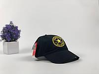 Кепка чёрная Converse логотип вышивка | Оригинальная бирка, фото 1