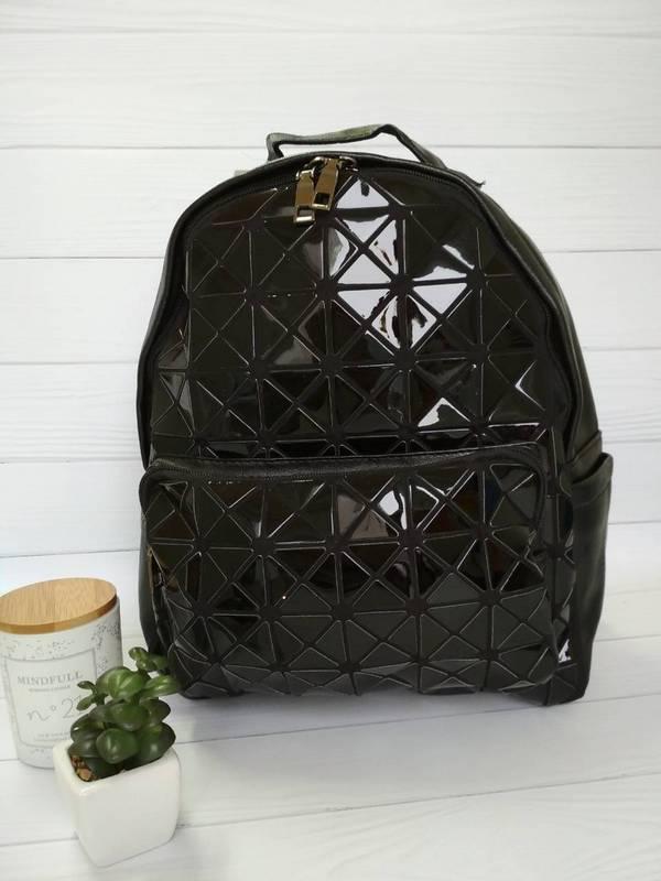 Стильный молодежный рюкзак черного цвета