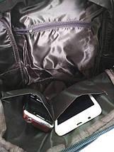 Стильный молодежный рюкзак черного цвета, фото 3
