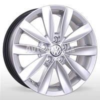 Литые диски Storm BKR-481 (VW. Skoda) R15 W6.5 PCD5x112 ET42 DIA57.1 (silver)