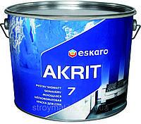 Eskaro Akrit 7 краска для потолков и стен (матовая) 9,5 л.