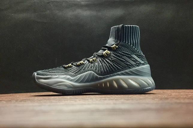 Мужские кроссовки Adidas Crazy Explosive Boost 2017 RK Black Черные, фото 2