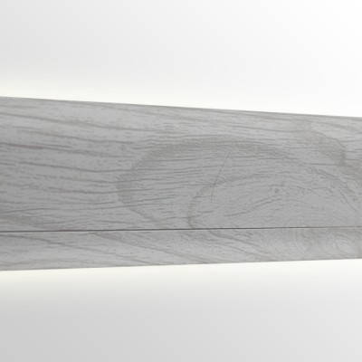 Плинтус пластиковый San Deckor SD121 Ясень Светлый, фото 2