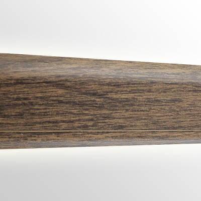 Плинтус пластиковый San Deckor SD122 Дуб Темный, фото 2