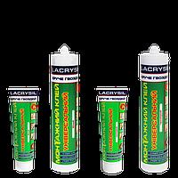 Клей монтажный универсальный акриловый 'Круче гвоздей' белый LACRYSIL,  0,2 кг