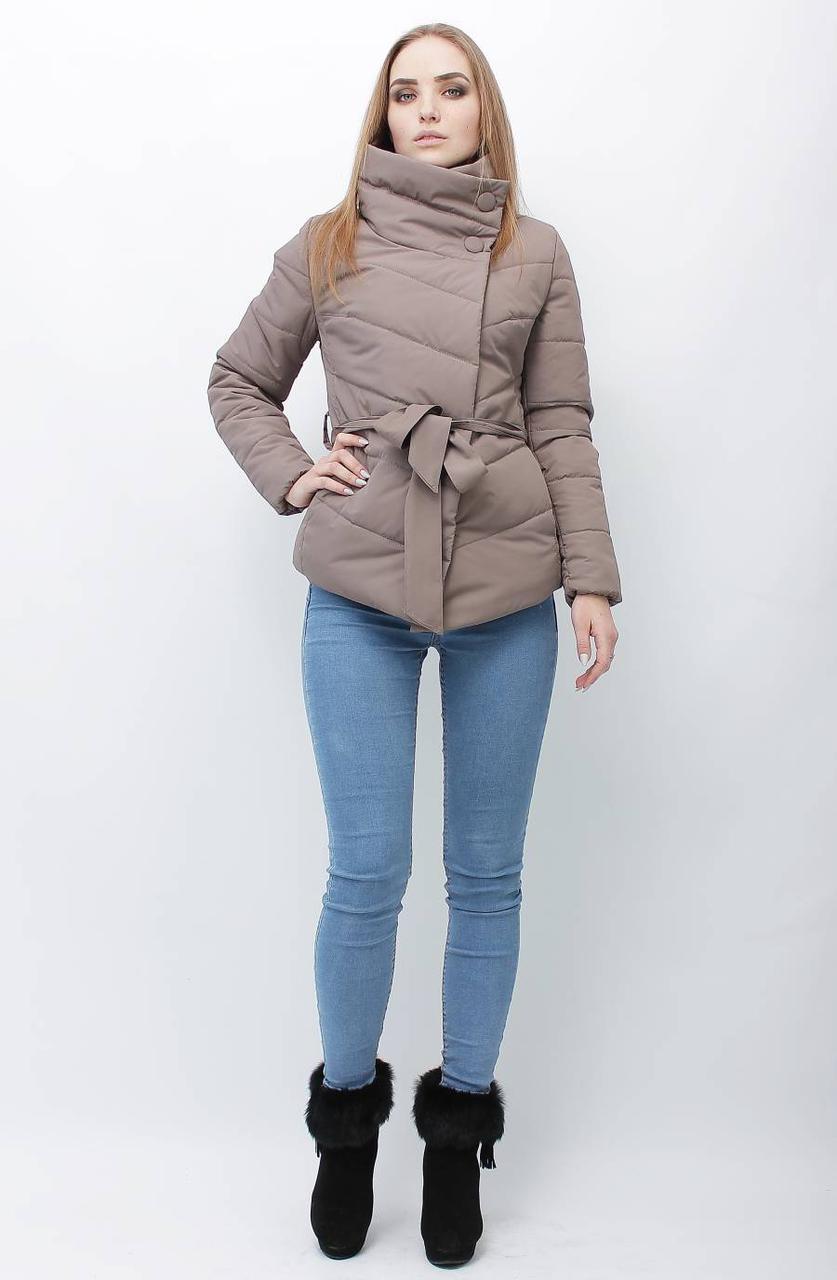 Асимметричная деми куртка