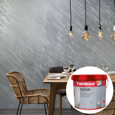 Декоративная краска Tambour (Тамбур) Safari Perlato (Сафари Перламутр), фото 2
