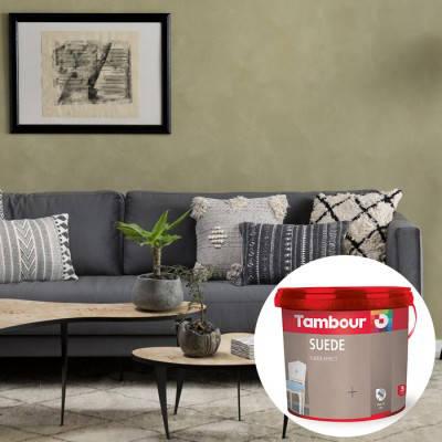 Декоративная краска Tambour (Тамбур) Suede (Свед), фото 2