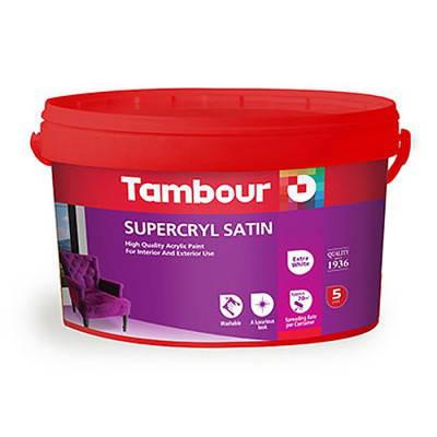 Акриловая краска Tambour (Тамбур) Supercryl Satin (Суперкрил Сатин), фото 2