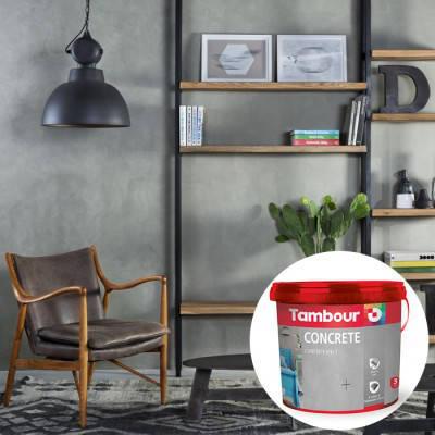 Декоративная краска Tambour (Тамбур) Concrete (Бетон), фото 2