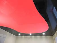 Комбинированные натяжные потолки, фото 1