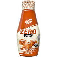 6PAK Nutrition Sauce ZERO 400 ml (Солона карамель)