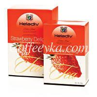 Чай чёрный Heladiv Strawberry Клубника 100 гр