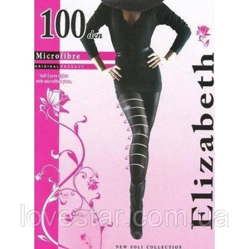 Колготки Elizabeth 100 den черная  4