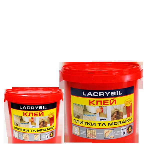 Клей для мозаики и плитки LACRYSIL,  8,0 кг