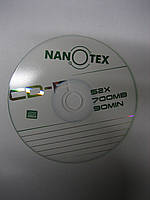 Диск CD-R 700MB/52x/90min(Nanotex)
