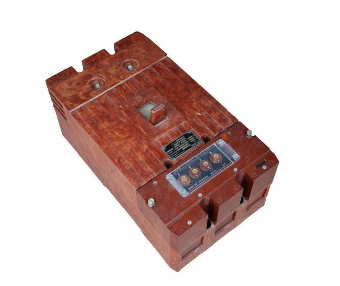 Автоматический выключатель А-3744С 500 А