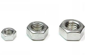 Гайка нержавеющая М18 DIN 934 (ГОСТ 5915-70, ГОСТ 5927-70) сталь А2 и А4, фото 2