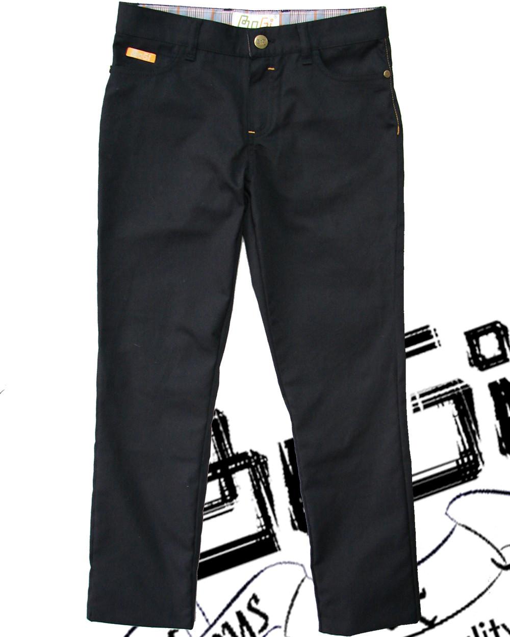 Брюки, джинси, котони для хлопців чорного кольору, BOGI (Боджі), 110, 116