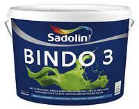 Интерьерная латекстная краска для потолка и стен Sadolin Bindo 3 10 л. глубокоматовая