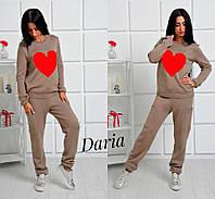 """Очень красивый женский костюм """"Яркое сердце"""" Daria"""