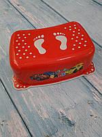 """Подставка для ног детская """"Авто"""" с антискользящей резиной, Maltex"""