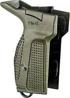 Тактическая рукоятка FAB Defense для ПМ под левую руку, зеленая