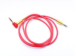 Аудио кабель AUX SONGFUL красный