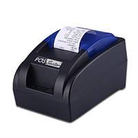 Чековый термопринтер pos принтер чеков usb 58 мм