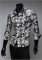 Мужская рубашка в стиле Милитари
