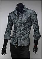Рубашка мужская Милитари S / 37-38