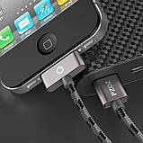 Кабель Quick Charge для быстрой зарядки  iPhone PZOZ (шнур для зарядки телефона), фото 3
