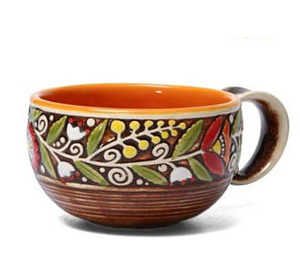 Чашка - 300 мл, Коричневая (Manna Ceramics)