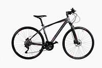 """Велосипед Comanche Maxima Cross, рама 20"""", черный-серый"""