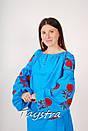 Туника вышитая платье лен, вышиванка бохо стиль , Bohemian, этно, фото 2