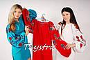 Вышитое платье - туника лен в Бохо-стиле, этно, фото 5