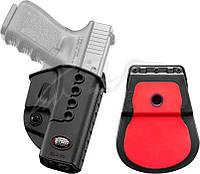 Кобура Fobus для Glock 17,19 с поясным фиксатором черная
