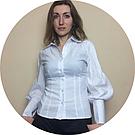 Как правильно ухаживать за белой блузкой.