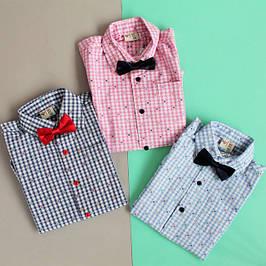 Детские рубашки для мальчика