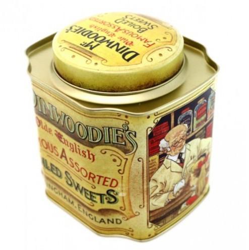 Жестяная банка для чая и кофе Ностальгия Динвудис, 300г ( контейнер для сыпучих )