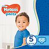 Підгузки-трусики дитячі Huggies Pants для хлопчиків 5 (12-17 кг), Mega Pack 68 шт