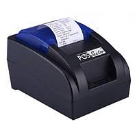 Чековый термопринтер pos USB принтер для чеков 58 мм