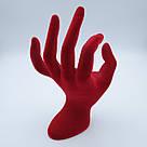 Рука красная 18 х 7 см, фото 2