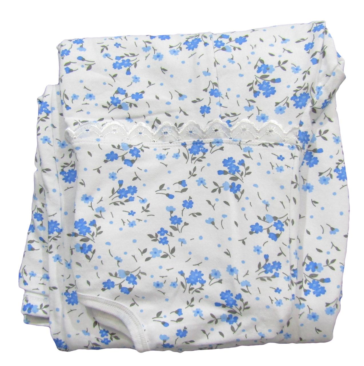 b27f2466d1ef ... Ночная рубашка теплая 03271 Пуговка для беременных, в роддом, р.р.46