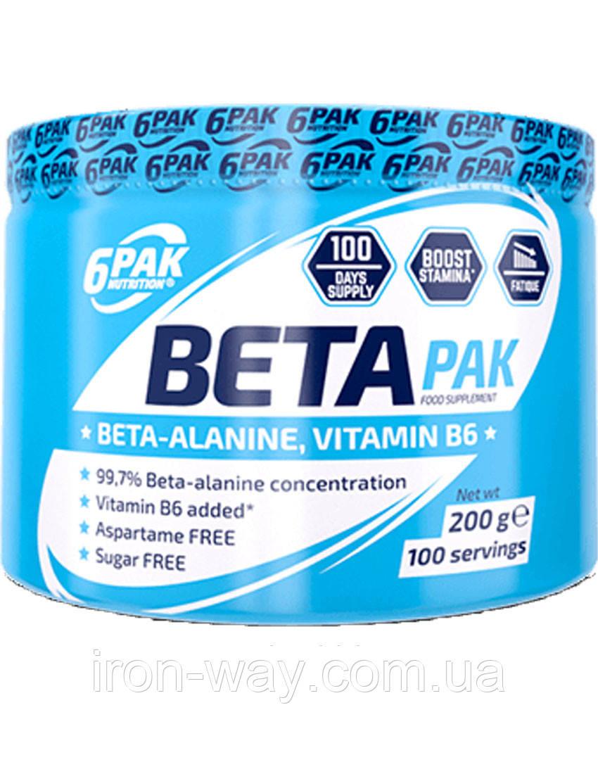 6PAK Nutrition Beta Alanine 200 g