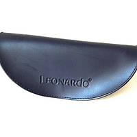 Футляр полутвёрдый(175x80x62) фирменный Leonardo для солнцезащитных очков, цвет индиго