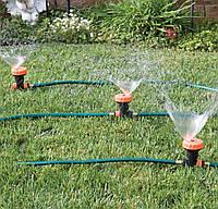 Спринклерная система для полива.