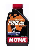 Масло вилочное для мотоцикла Motul Fork Oil Expert Medium/Heavy SAE 15W (1L)